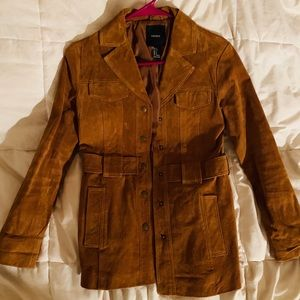 FORVEr21 Brown Suade Jacket